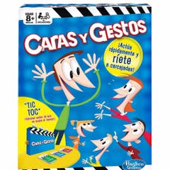 Hasbro Gaming B0638 Caras y Gestos