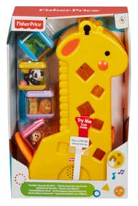 Mattel Fisher-Price Peek-A-Blocks Jirafa