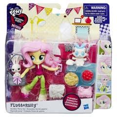 Mini Muñeca Fluttershy, Pijama Party Equestria Girls My Little Pony B6358