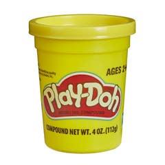 Play-Doh - Lata Play-Doh Individual de 112 Gramos - Amarilla