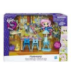 Fluttershy, Cafetería De La Escuela Equestria Girls My Little Pony  B7794