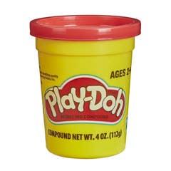 Play-Doh - Lata Play-Doh Individual de 112 Gramos - Rojo Brillante