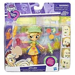 Mini Muñeca Applejack, Tienda De Batidos Equestria Girls My Little Pony  B9474