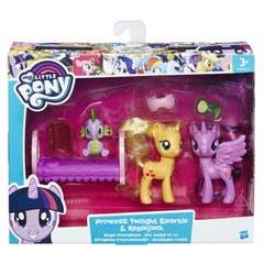 Paquete De La Amistad Twilight Sparkle Y Applejack My Little Pony  B9850