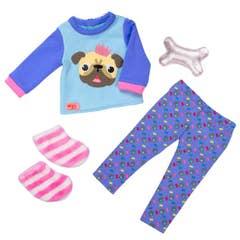 Outfit Pijama Bulldog BD30390Z