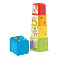 Fisher-Price Mis Primeros Bloques de Animalitos