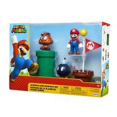 Set 3 Figuras De Acción Nintendo Mario Bros 160469