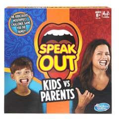 Hasbro Gaming C3145 Qué Dijooo? Niños vs Padres
