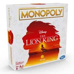 Monopoly E6707 Juego De Mesa Monopoly Rey Leon Juguete Hasbro 1152E6707