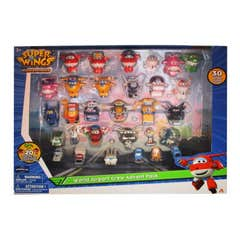 Set De Figuras Super Wings 30 Pack 1169