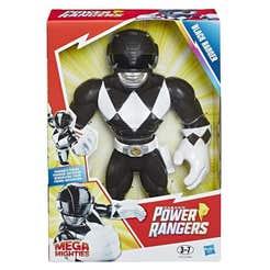 Playskool E5873 Figura Black Ranger Mega Mighties Power Rangers Juguete Hasbro 1152E5873