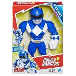 Power Rangers E5874 Power Rangers Figura Playskool Heroes Mega Mighty Blue Ranger Juguete Hasbro 1152E5874