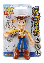 "Mattel Toy Story Figura Flexible 4"" Woody 1005GGL00-1"