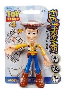 "Mattel Toy Story Figura Flexible 4"" Woody 1005GGL00-1"