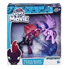 Figura Tempest Shadow y Twilight Sparkle My Little Pony