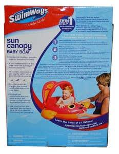 Bote Inflable Para Bebé Con Toldo 6038996