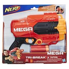 Nerf E0010 Lanzador Nerf Mega Tri-Break  Juguete Hasbro