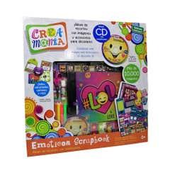 Album De Recortes Emoticonos  Crea Mania 62958-JG