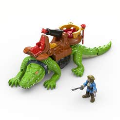 Fisher-Price Imaginext Crocodilo Pirata Motor