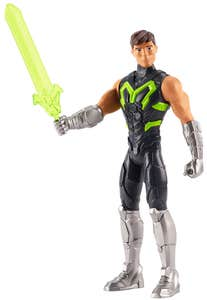 Max Steel Turbo Espada Figura de Acción