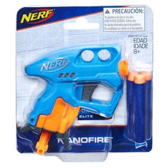 NERF E0667 Mini Lanzador Nerf Nanofire Azul Juguete Hasbro