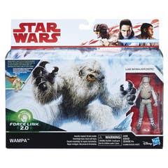 STAR WARS E1689 E1689 Force Link 2.0 Vehículos Clase A Figuras de Wampa y Luke Skywalker (Hoth)