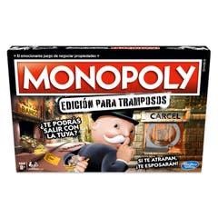 Hasbro Gaming E1871 Monopoly Edición para Tramposos