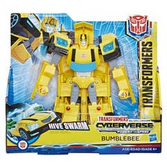 Transformers E1907 Figura Cyberverse Ultra Action Attackers Bumblebee