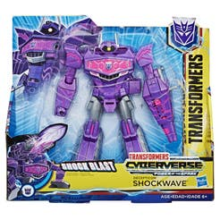 Transformers E1909 Figura Cyberverse Ultra Action Attackers Shockwave