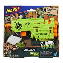 Nerf E2673 Lanzador Nerf Zombie Strike Quadrot