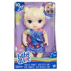 Baby Alive Muñeca Bebé Soniditos Baby Alive