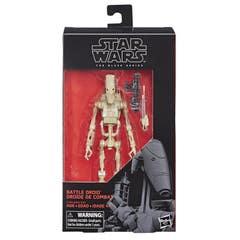 Star Wars The Black Series - Figura de Battle Droid de 15 cm