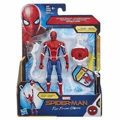 Spider-Man: Lejos de casa - Figura de acción Deluxe Spider-Man Trepamuros de 15 cm