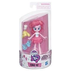 My Little Pony E4239 Mini Muñeca Pinkie Pie Brigada de Moda Equestria Girls