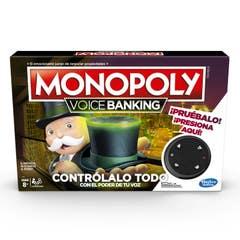 Monopoly E4816 Monopoly Voice Banking Juego de mesa electrónico