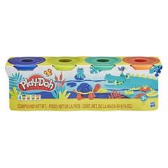 Play-Doh 4 Pack de 4 onzas - Colores Salvajes E4867