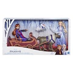 Hasbro Disney Frozen 2: Sven y Las Hermanas Elsa y Anna En Trineo E5501