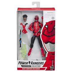 POWER RANGERS E5933 Power Rangers Figura 6 Pulgadas Lightning Ranger Rojo Juguete Hasbro