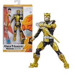 POWER RANGERS E5934 Power Rangers Figura 6 Pulgadas Ranger Dorado Juguete Hasbro