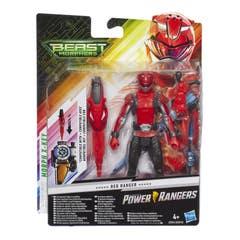 Power Rangers E5941 Figura Red Ranger 6 Pulgadas con Accesorios