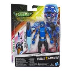 Power Rangers E5942 Figura Blue Ranger 6 Pulgadas con Accesorios