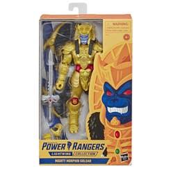POWER RANGERS E6051 Power Rangers Lightning Collection: Mighty Moprhin Goldar Juguete Hasbro