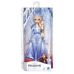 Disney Frozen Elsa Muñeca de Moda Clásica Frozen 2 con Cabello Largo Rubio y Atuendo Azul
