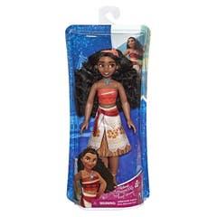 Disney Girls E6737 Disney Princess Moana de Oceanía - Muñeca con falda brillante, banda para el cabello y collar Juguete Hasbro