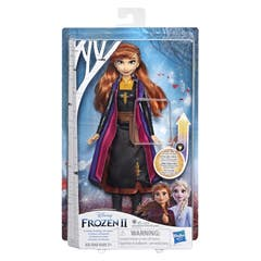 Hasbro Disney Frozen 2: Anna Muñeca Aventura Mágica E6952