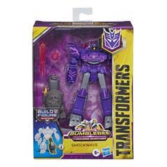 Transformers E7098 Transformers Bumblebee Cyberverse Adventures Shockwave