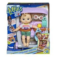BABY ALIVE E7182 Baby Alive Littles Muñeca Castaña con Rubia Juguete Hasbro