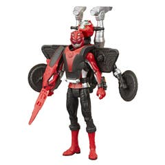Power Rangers E7324 Power Rangers Figuras de 6 Pulgadas Red Ranger