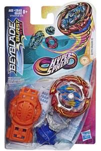 Beyblade Hypersphere Starter Pack Glyph Dragon D5 Top y Lanzador