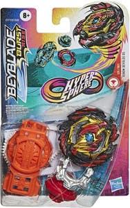Beyblade Hypersphere Starter Pack Venom Devolos D5 Top y Lanzador